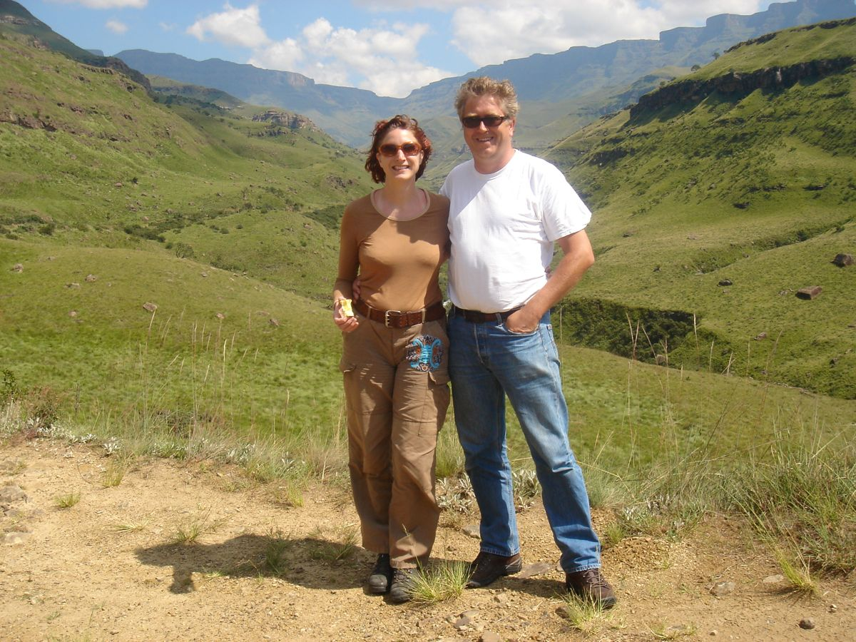 at the Sani Pass in Lesoto